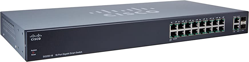 Cisco SG200-18 18-port Gigabit Smart Switch