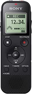 Sony Digital Voice Recorder with Built-in USB - Black, ICD-PX470, 558Q414