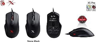 Bloody X5 Pro for RGB Esports Gaming Mouse with 3389 Optical Sensor, 16,000 CPI USB, 12 RGB Lightning Effects, Anti-Slip G...