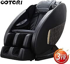 Best Massage Chair & Recliner Premium Full Body Zero Gravity with Shiatsu,Heating & Foot Roller Massager Black Color