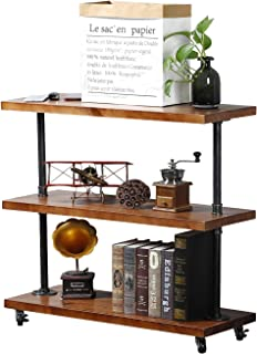 Best industrial console table with wheels Reviews
