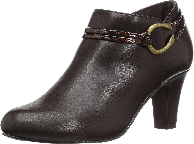 Easy Street Womens Jem Ankle Bootie