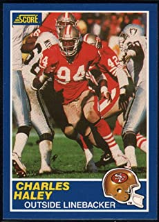 Football NFL 1989 Score #21 Charles Haley 49ers