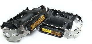 RBR Juego Pedales UNIVERSALES Aluminio & Acero (2UNDS)