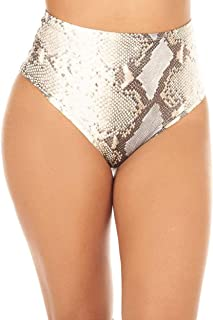 iHeartRaves Women's High Waisted Animal Print Booty Shorts Rave Bottoms