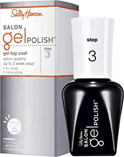 Sally Hansen Salon Pro Gel, Pro-Gel Top Coat, 0.14 Fluid Ounce