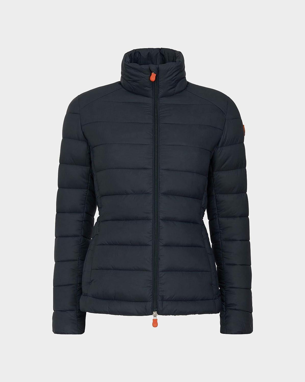 Save The Duck Womens Short Basic Nylon Jacket