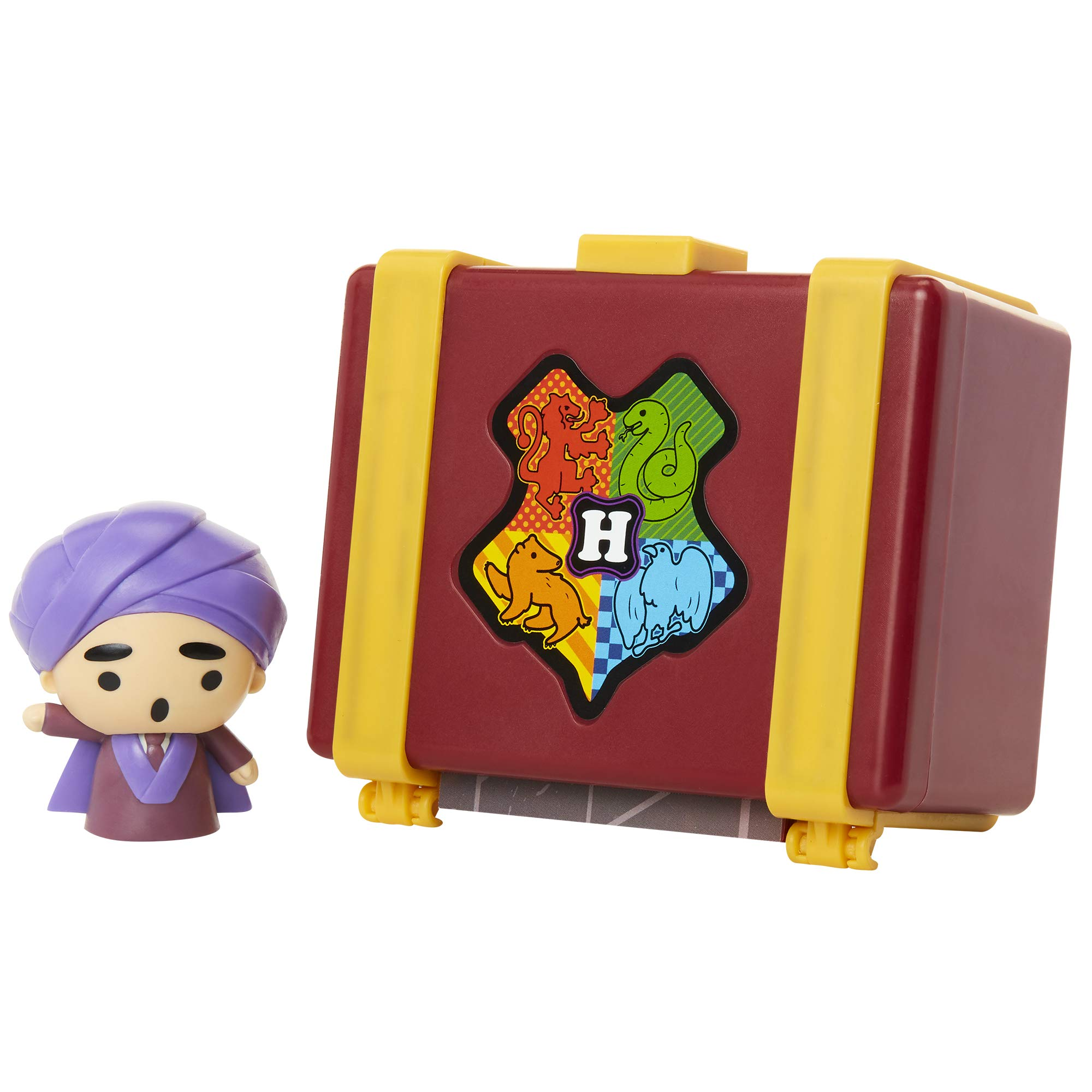 """HARRY POTTER Charms Professor Quirrell Collectible 2"""" Toy Figure Playsets, Connect & Display to Create Memorable Scenes - 12 Different Figures to Collect!"""
