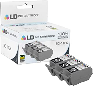 LD Compatible Ink Cartridge Replacements for Canon BCI-11Bk 0957A003 (Black, 3-Pack)