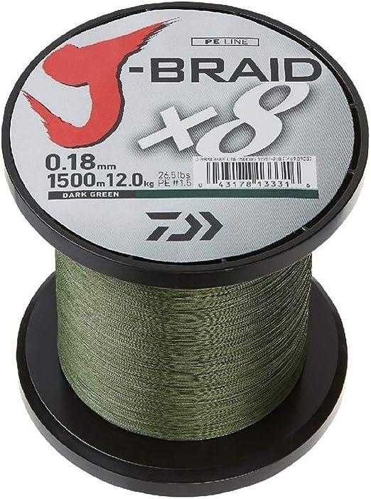 Daiwa J-Braid x4 Fishing Braid Line 300 Yards Pick Color//Line Test JBraid