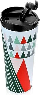 Starbucks 2017 Modern Trees Holiday Stainless Steel Tumbler 12 Ounce