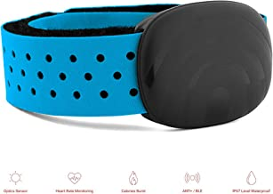eFamily Fitness Tracker, Activity Tracker Arm Band with Heart Rate Monitor, IP67 Waterproof Smart Fitness Band, Smartphone ANT+ Pairing Armband for Kids Women and Men