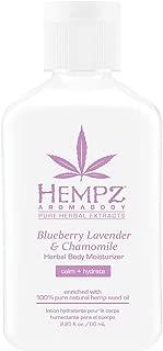 Blueberry Lavender & Chamomile Herbal Body Moisturizer, 2.25oz