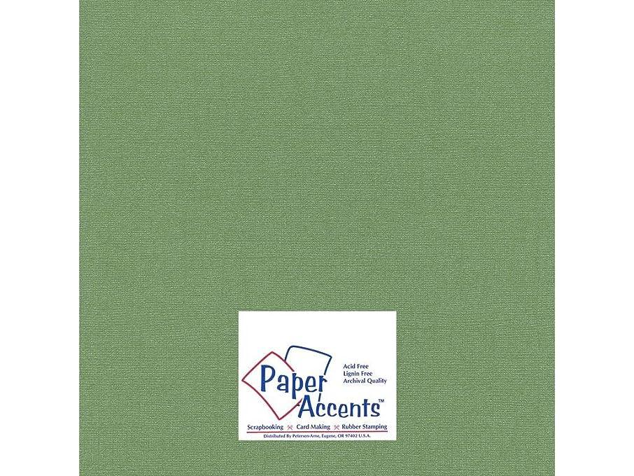 Accent Design Paper Accents Cdstk Glimmer 12x12 80# Fern
