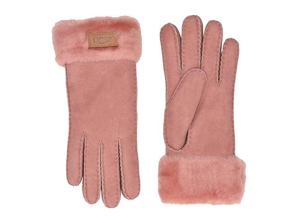 Vintage Style Gloves- Long, Wrist, Evening, Day, Leather, Lace UGG Turn Cuff Water Resistant Sheepskin Gloves Lantana Pink Extreme Cold Weather Gloves $154.95 AT vintagedancer.com