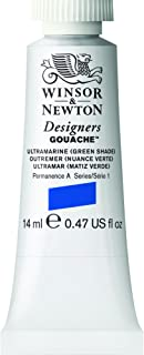 Winsor & Newton Designers Gouache Tube, 14ml, Ultramarine Green Shade