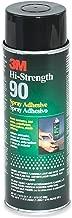 3M(TM) Hi-Strength 90 Spray Adhesive, Inverted Aerosol Net Wt 17.6 oz, 12 cans per case