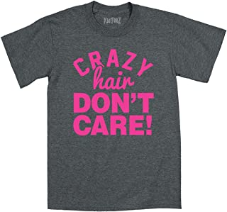 Crazy Hair Don't Care! Funny Cute Hipster Hip Urban Novelty Kid Toddler T Shirt