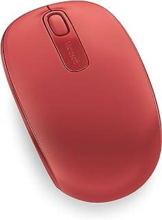 Microsoft U7Z-00034 Wireless Mobile Mouse 1850 2.4 GHz Red
