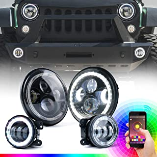 iphone controlled led headlights