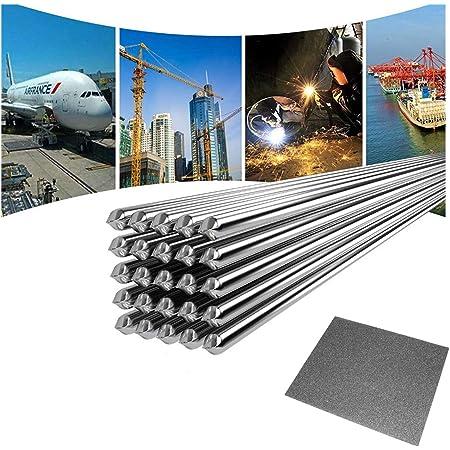 Fil de Soudure en Aluminium à Basse Température, Tige de Soudure Durable pour Réparation Pas Besoin de Poudre de Soudure - 10 PCS 2.0MM 50CM
