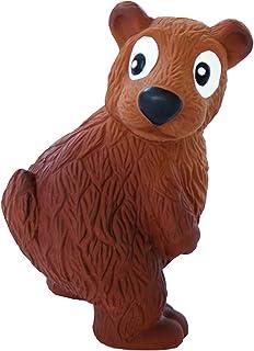 Outward Hound Tootiez Latex Rubber Grunting Bear Dog Toy