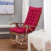 Almofada de cadeira Engrossar Almofada de cadeira de balanço, almofadas de assento interno, almofada de cadeira longa com ...
