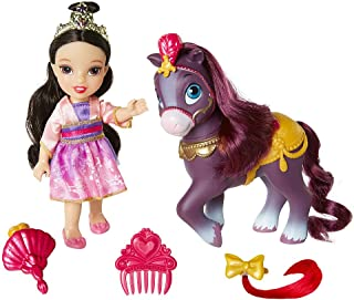 Disney Princess Petite Mulan Doll and Pony Playset