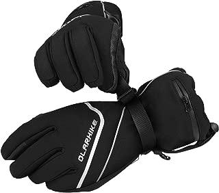 OlarHike Men's Ski Gloves, Winter Snow Gloves for Women, Touch-Screen&Waterproof