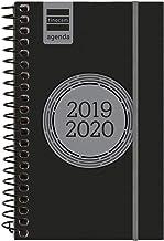 Finocam - Agenda 2019-2020 semana vista apaisada español Espir Label Negro