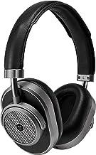 Master & Dynamic MW65 Active Noise-Cancelling (ANC) - Auriculares inalámbricos con micrófono (Bluetooth), color negro