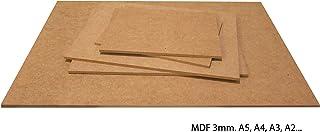 Tableros de DM de 3 milímetros - para Maquetas, Láser, CNC