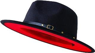 Wide Brim Fedora Hats for Women Men and Kids, Baby...