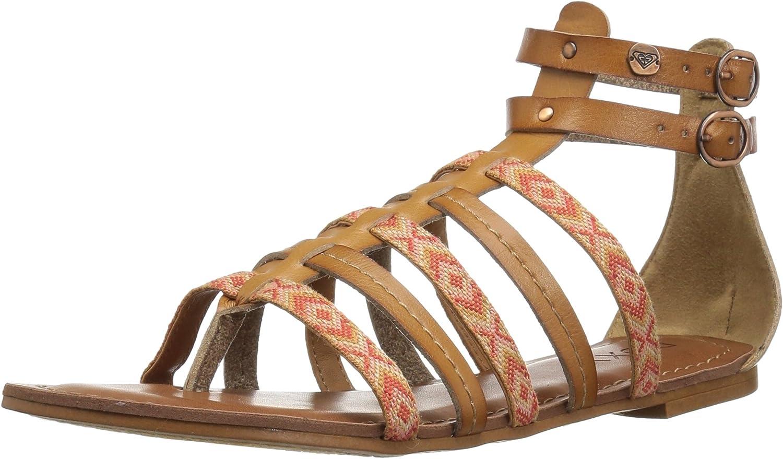 Roxy Womens Emilia Strappy Sandal Gladiator Sandal