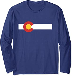 Colorado State Flag Long Sleeve T-Shirt