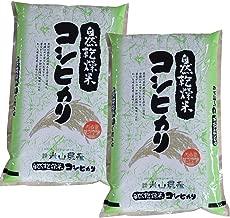 【 精米 】 元年産 富山県産 コシヒカリ 米山農産の特別栽培米 10kg(5kg×2) 農家直送 自然乾燥米 DAG米 一等米