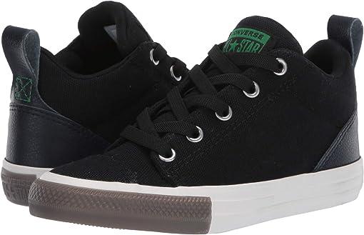 Black/Obsidian/Green