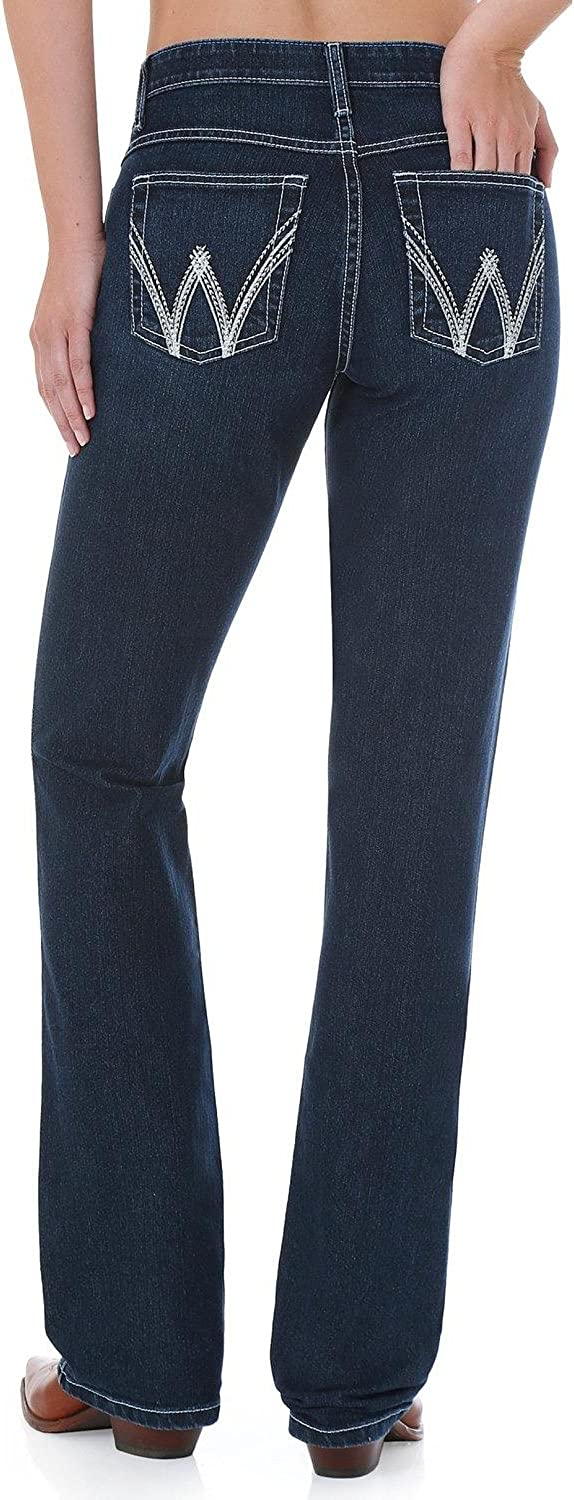 Wrangler WCV20 Women's The Ultimate Riding With Cool VantageQBaby Jean, Dark bluee  1334