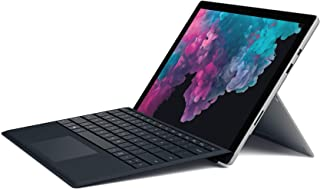 Microsoft Surface Pro 6 (Intel Core i7, 16GB RAM, 512GB) - Newest Version and Microsoft FMM-00001 Type Cover Surface Pro - Black
