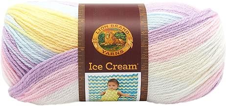 Lion Brand Yarn 923-201 Ice Cream Yarn, Cotton Candy