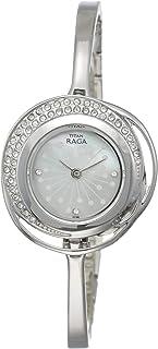 Titan Raga Analog Mother of Pearl Dial Women's Watch-NM95003SM01 / NL95003SM01