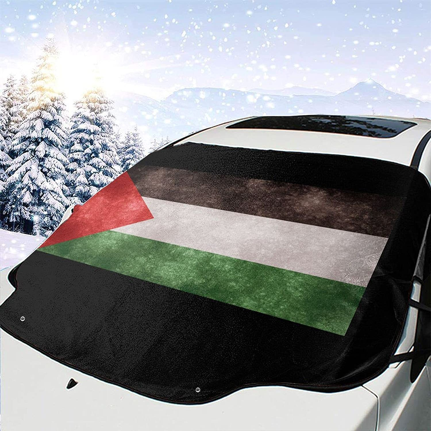 Max 73% OFF Flag of Palestine Windshield Snow Wiper Cover Visor 2021 Ice Removal