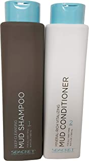Seacret Mineral Rich Mud Shampoo and Conditioner Set