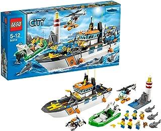 レゴ (LEGO) シティ レスキューパトロールシップとヘリ 60014
