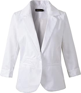 127398b35022 Amazon.ca: White - Suits & Blazers / Women: Clothing & Accessories