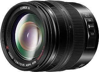 Panasonic H-HSA12035E Splash/Dust/Freezeproof LUMIX G X Vario Wide Zoom Lens, Black (H-HSA12035E)