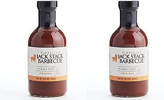 Jack Stack Barbecue Original Sauce, 2 Pack