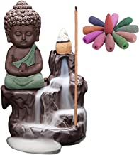 Handmade Ceramic Incense Holders Waterfall Backflow Incense Holder Burner,Backflow Incense Burner Ceramic Smoke Incense Co...