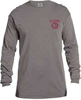 Image One Adult Unisex's NCAA Vintage Poster Long Sleeve Comfort Color Tee
