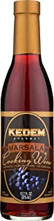 Kedem Gourmet Marsala Cooking Wine, 375ml, Certified Kosher